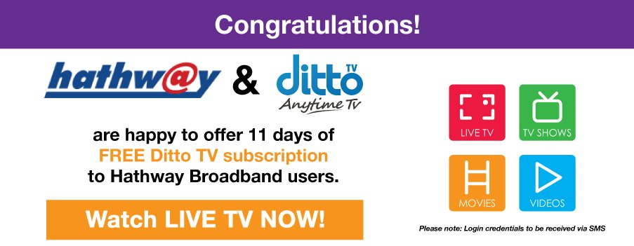 Hathway | India's Best Digital Cable Tv and Broadband