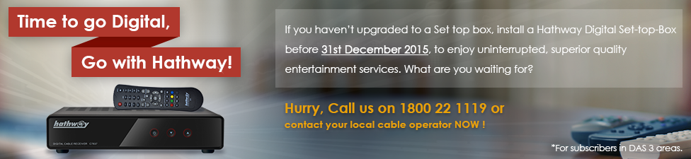 Hathway | India's Best Digital Cable Tv and Broadband Internet